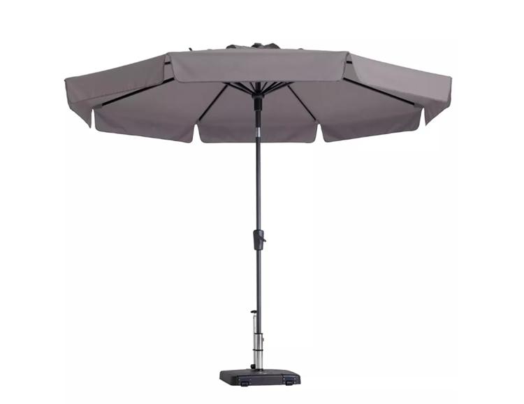 Madison Flores parasol Ø300 cm - taupe