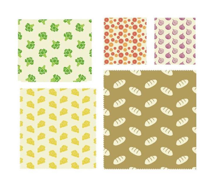 Bee's Wax all-in wrap - set van 5