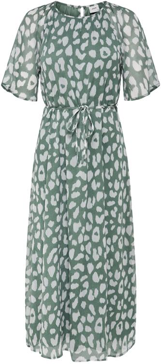 Jdysally 2/4 mid calf dress Chinois green/leo