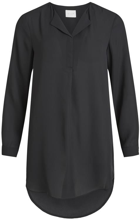 Vilucy l/s tunic Black