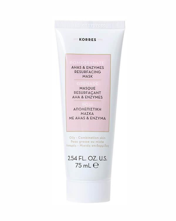 Korres - Pomegranate AHA'S & Enzymes Resurfacing Mask - 75 ml