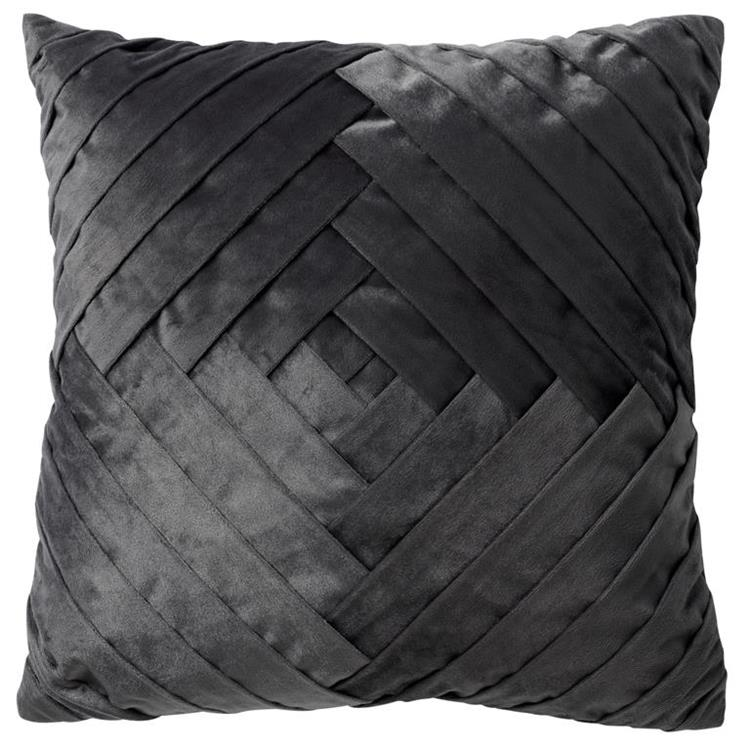 Dutch Decor Sierkussen Philly 45x45 cm - Charcoal Gray