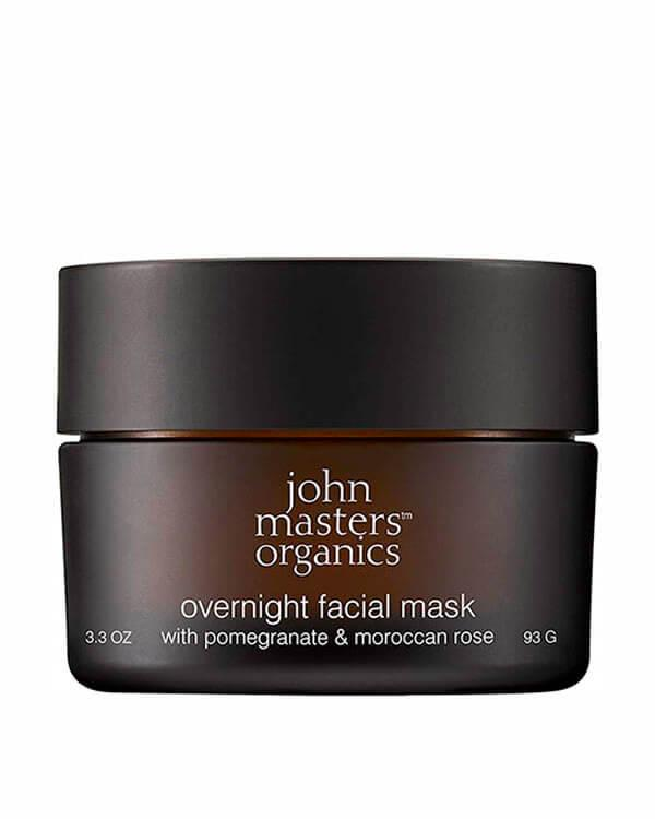John Masters Organics - Overnight Facial Mask with Pomegranate & Moroccan Rose - 93 gr