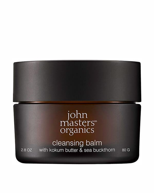John Masters Organics - Cleansing Balm with Kokum Butter & Sea Buckthorn - 80 gr