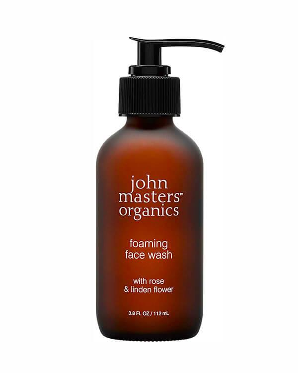 John Masters Organics - Foaming Face Wash with Rose & Linden Flower - 112 ml