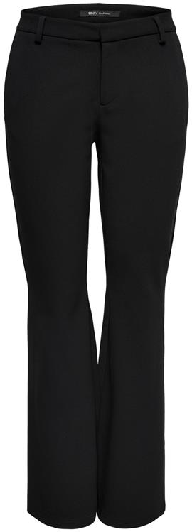 Onlrocky mid flared pant tlr noos Black