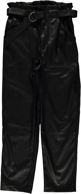 Geisha pants pu high waist Black