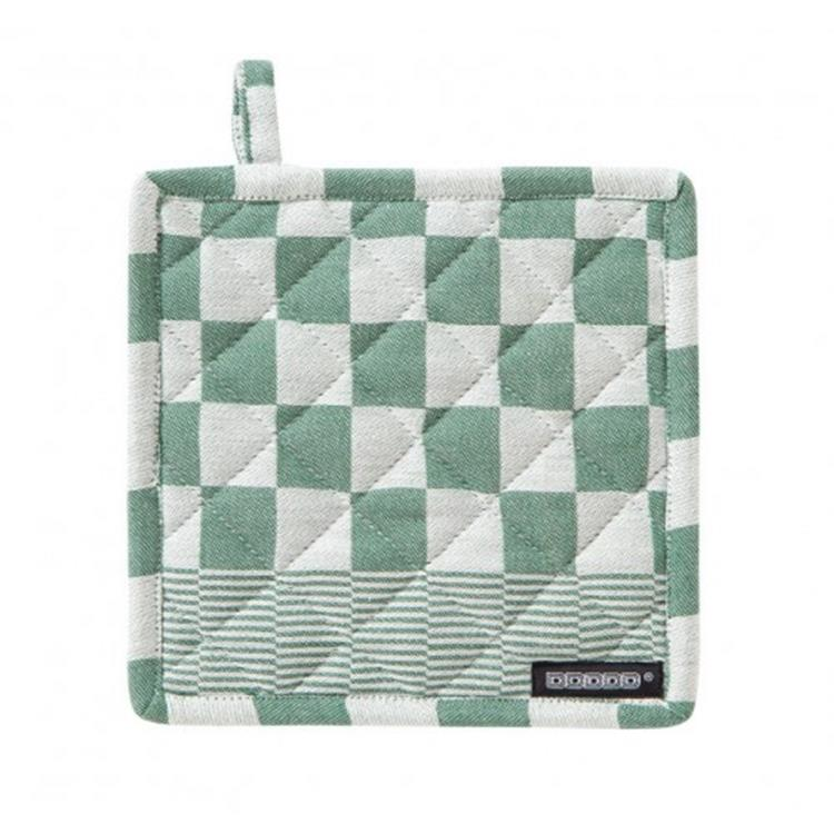 DDDDD Pannenlap Barbeque 21x21 cm - green