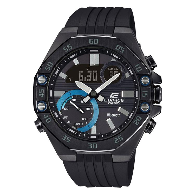 Casio Edifice ECB-10PB-1AEF met Bluetooth® Smart