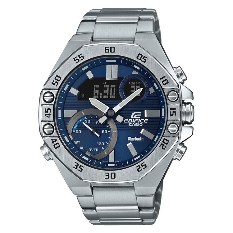 Casio Edifice ECB-10D-2AEF met Bluetooth® Smart