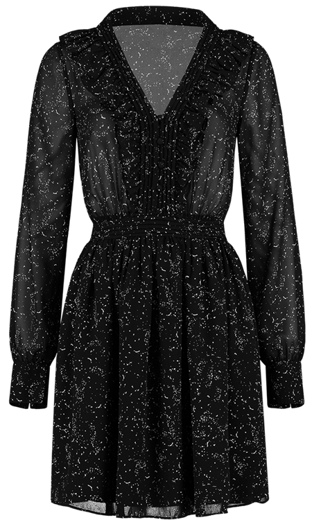 Nikkie Fylene dress Black