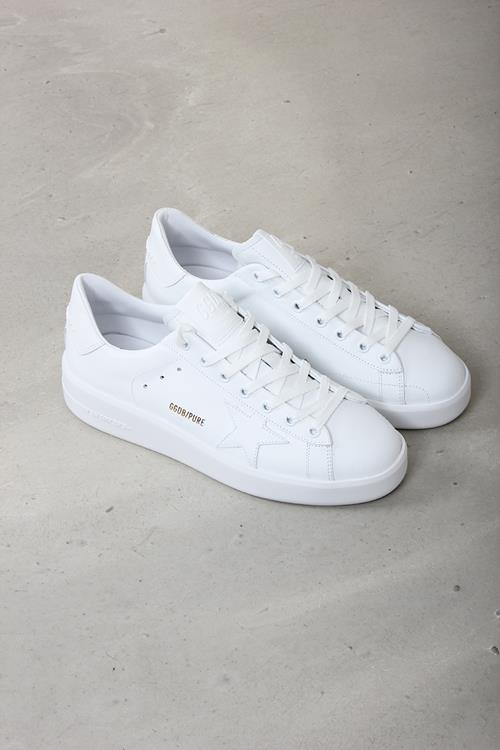 Golden Goose sneaker pure star white leather