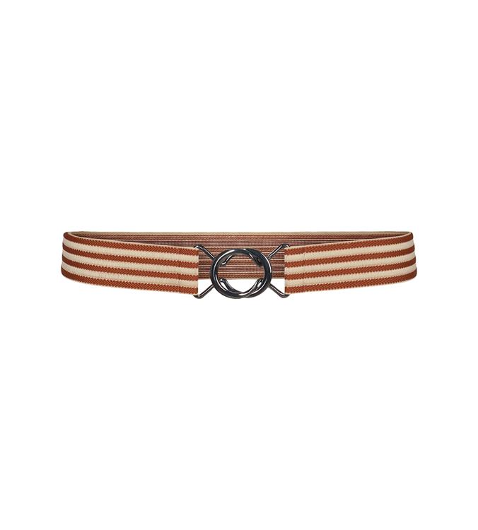 Co'Couture Tiki Elastic belt 199 bone