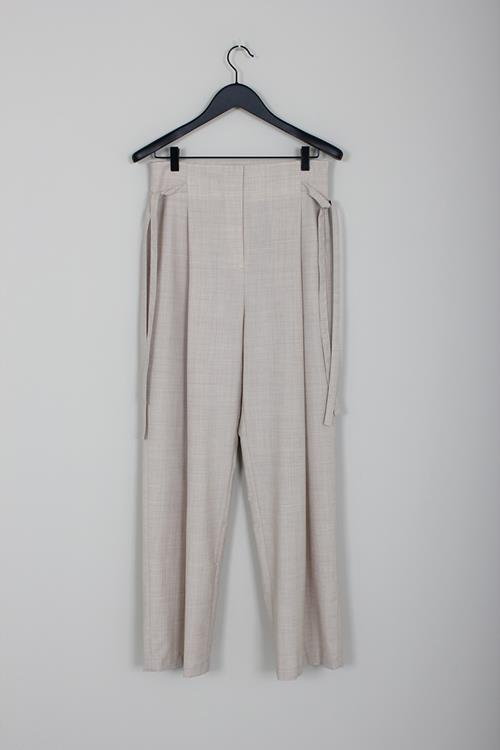 Le 17 Septembre side string pants beige