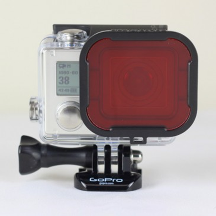 Polar Pro Aqua Red Filter voor Gopro Hero3+