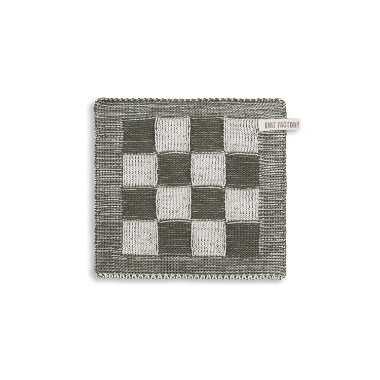 Knit Factory Pannenlap Block - ecru/khaki