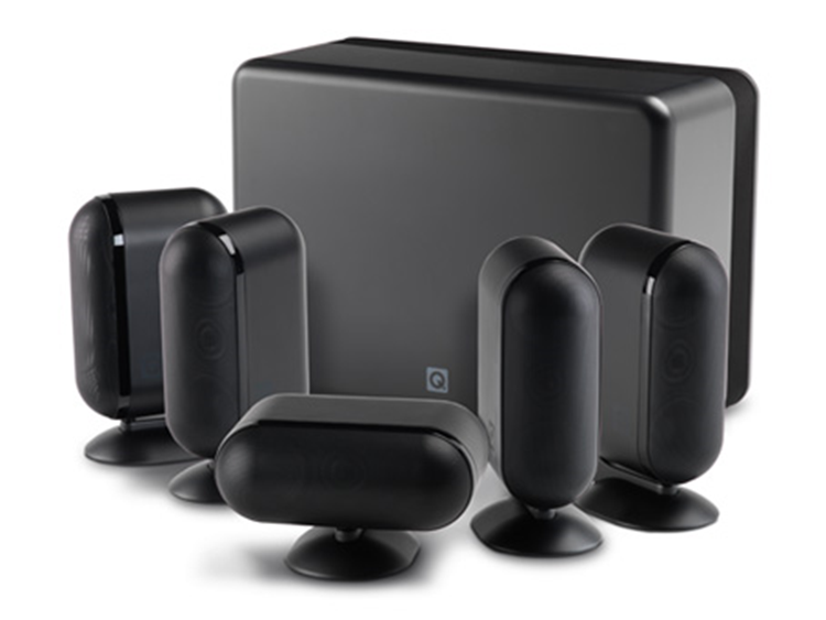 Q Acoustics Q7000i plus Home Cinema Set Black
