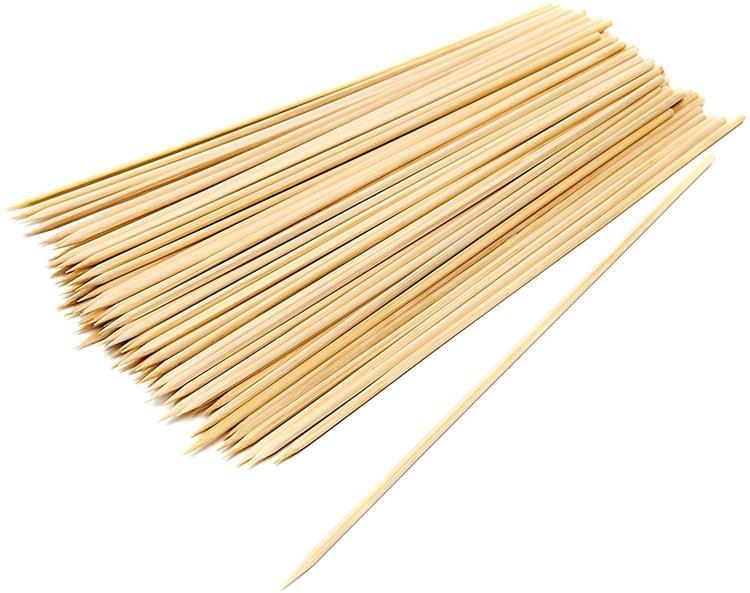 Grill Pro Bamboe vleespennen - 100 stuks