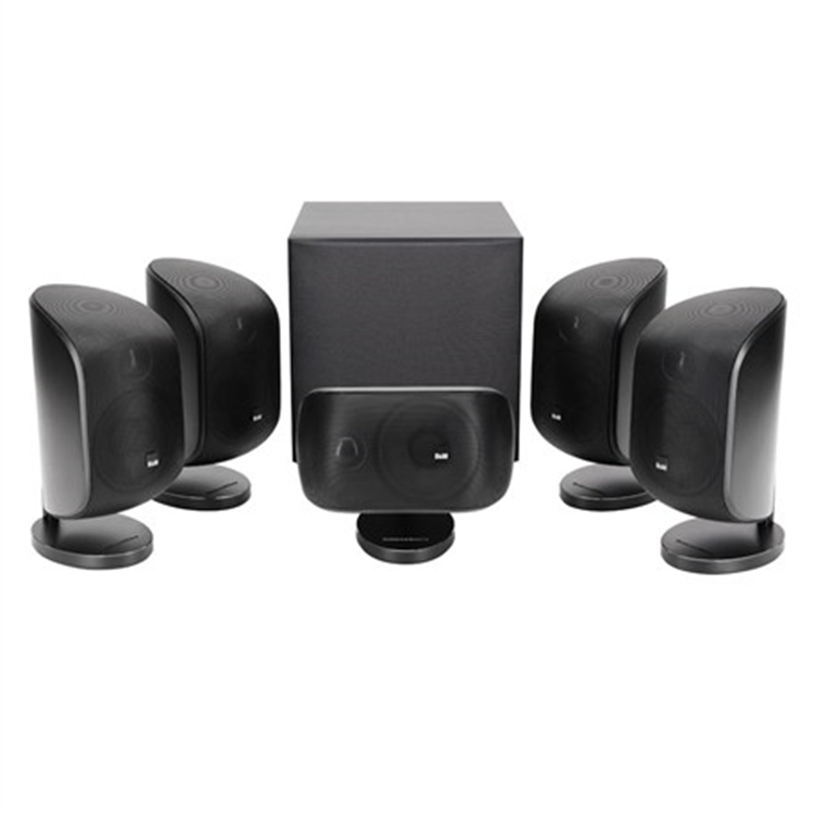 Bowers & Wilkins MT-50 Zwart Home Cinema Systeem