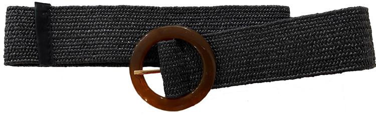 B-fashion gesp riem Black