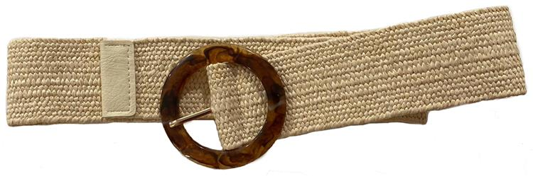 B-fashion gesp riem Beige