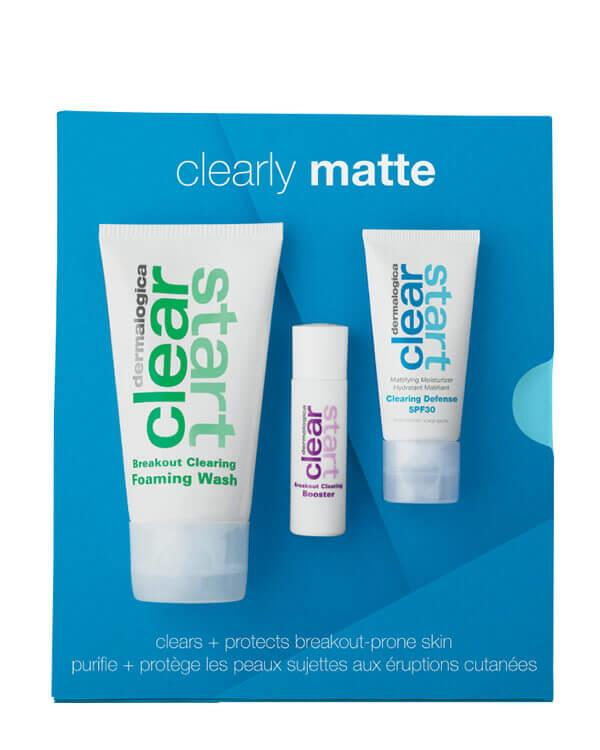 Dermalogica - Clear Start Clearly Matte Kit - 75 ml + 15 ml + 10 ml