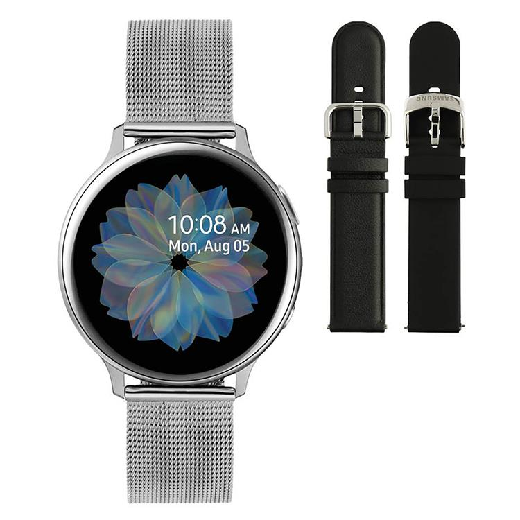Galaxy Watch Active2 - Smartwatch - 40mm silver mesh - Special edition