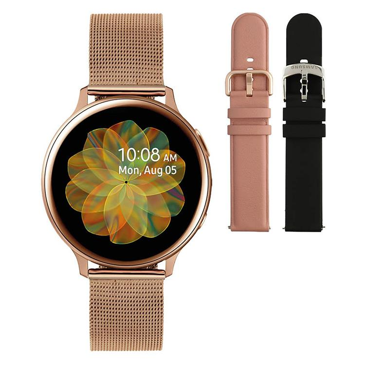 Galaxy Watch Active2 - Smartwatch - 40mm Rose gold mesh - Special edition