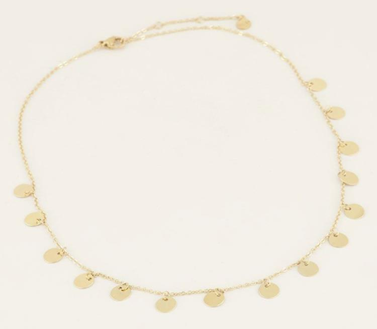 My jewellery coin necklace Gold