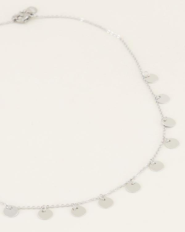 My jewellery coin necklace Silver