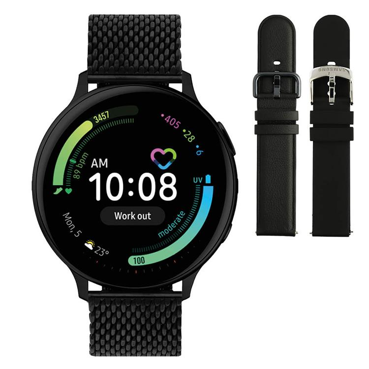 Galaxy Watch Active2 - Smartwatch - 44mm black mesh - Special edition