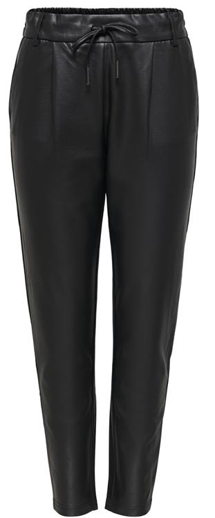 Onlpoptrash easy coated pant Black