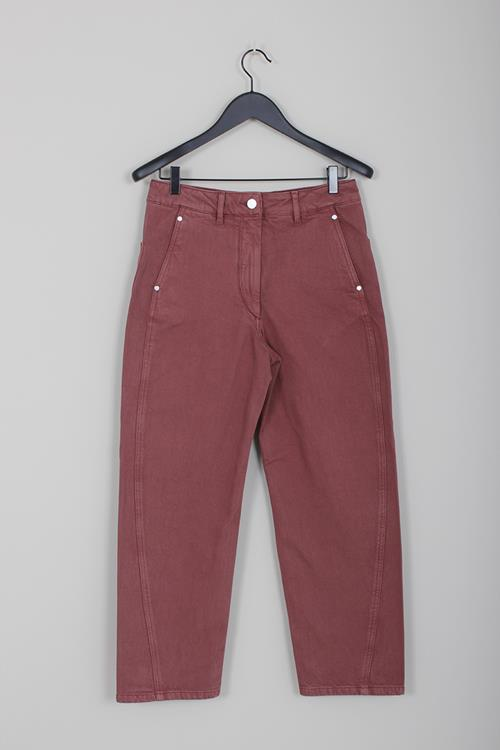 Lemaire twisted pants russet brown