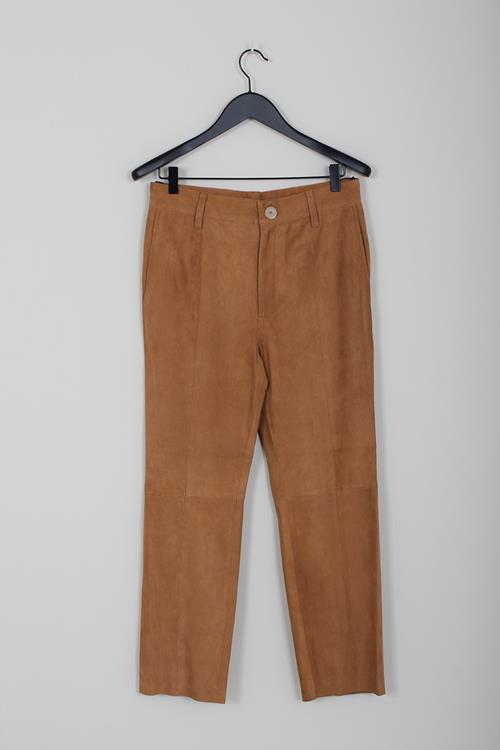 Forte Forte suede pants caramello