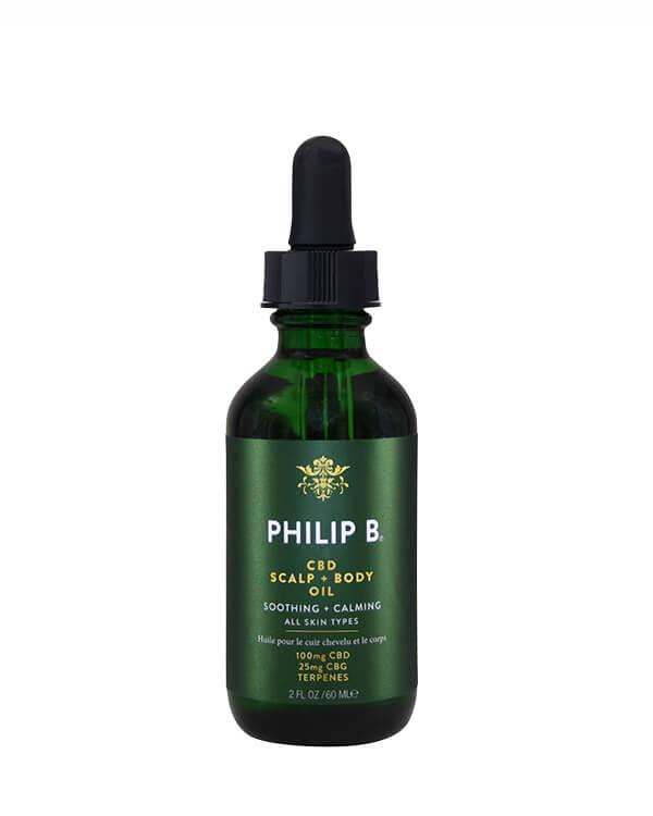 Philip B - CBD Scalp + Body Oil - 60 ml