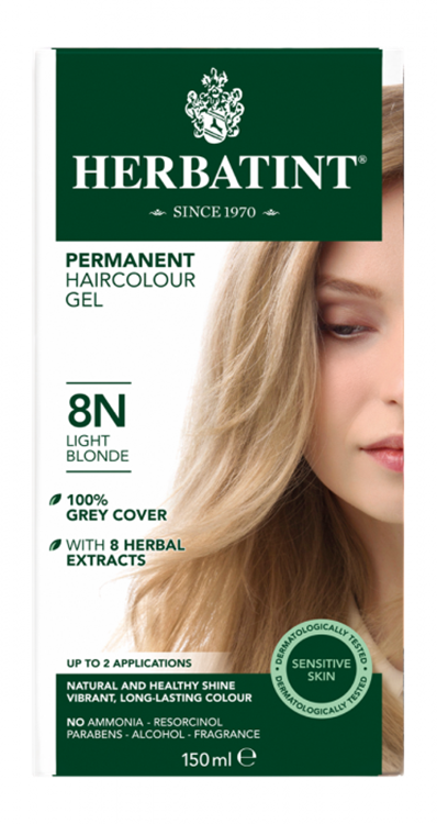 8N Light Blonde (150 ml.)