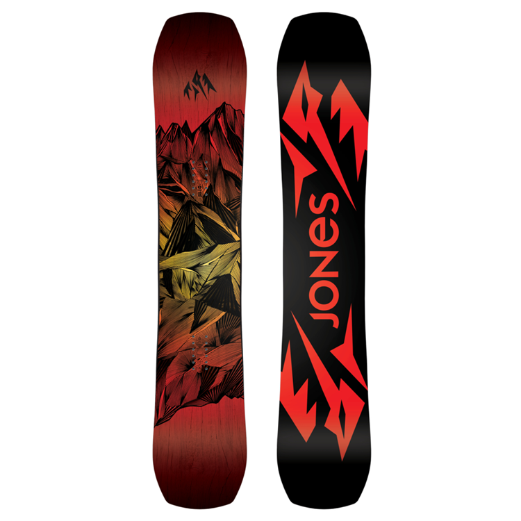 Jones Mountain Twin Snowboard Heren