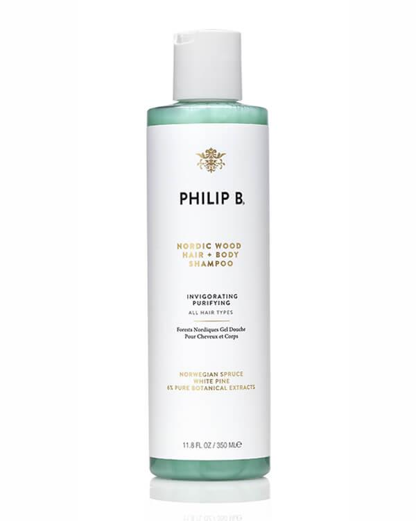Philip B - Nordic Wood Hair + Body Shampoo - 350 ml
