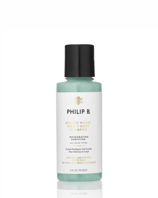 Philip B - Nordic Wood Hair + Body Shampoo - 60 ml
