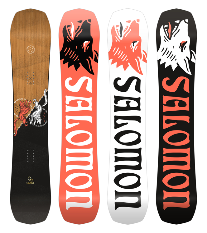 Salomon Assassin Snowboard Heren