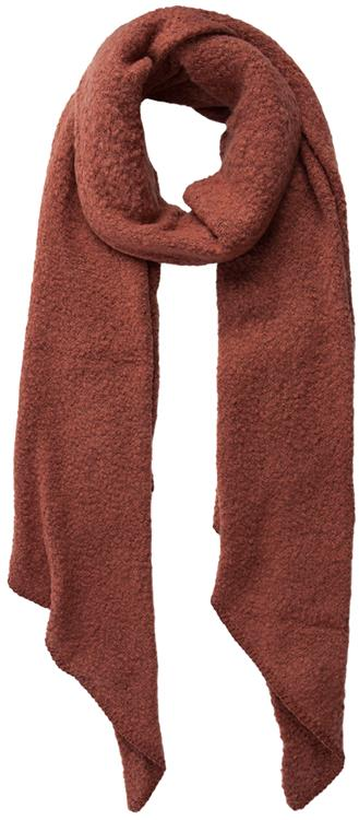 Pcpyron long scarf noos Mocca bisque
