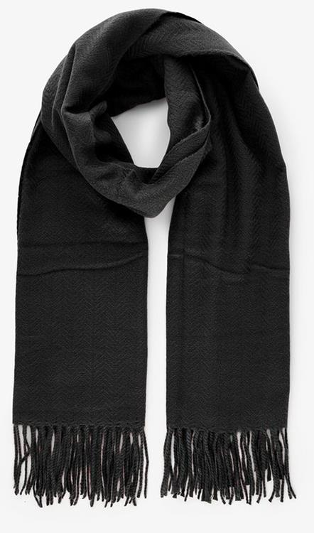 Pckial new long scarf Black