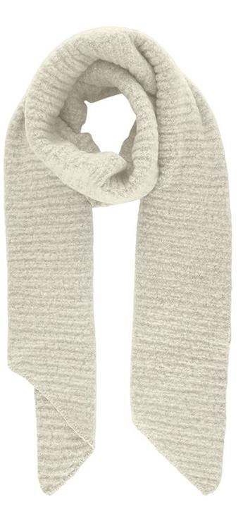 Pcpyron structured long scarf Whitecap grey