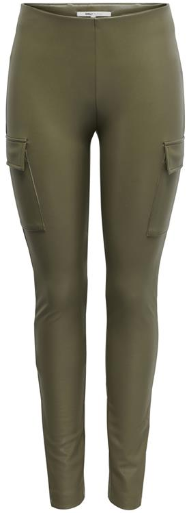 Onlmiri faux leather cargo legging Sea turtle
