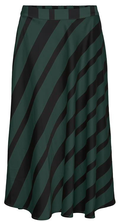 Vmekta hw calf skirt Pine grove/black