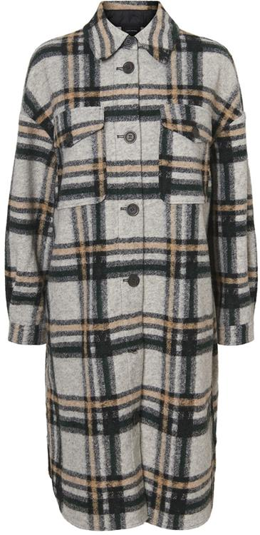 vmchrissie long check shirt