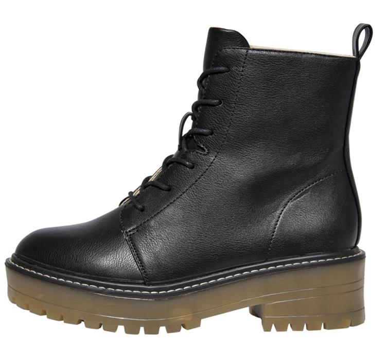 Onlbrandy-6 lace up winter boot Black