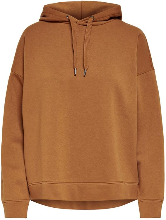 Jdyline life l/s hood sweat Leather brown