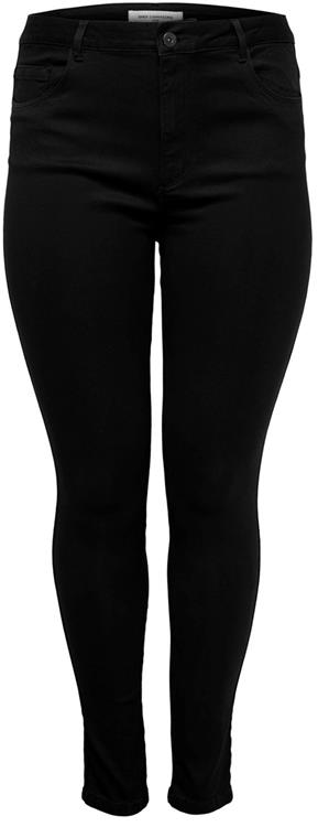 Only Carmakoma caraugusta hw skinny jeans black