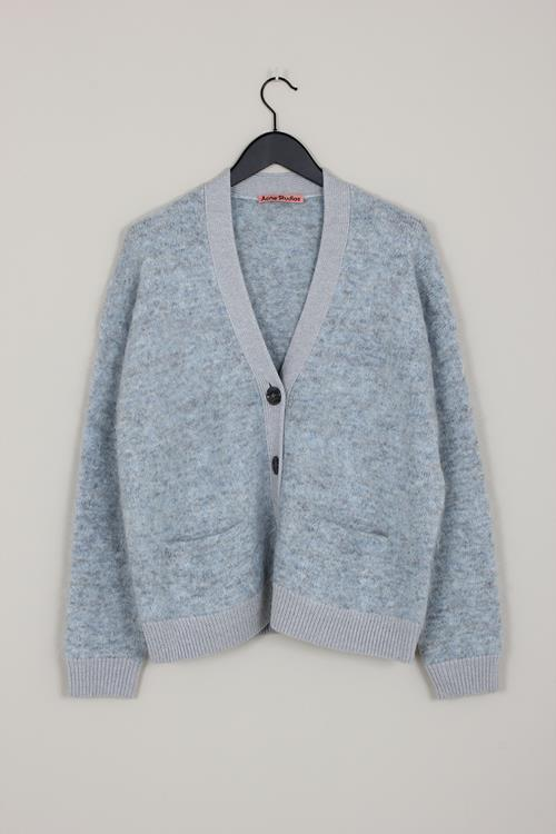 Acne Studios rives mohair light grey/blue